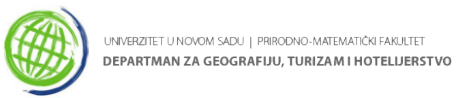 Departman za Geografiju, Turizam i Hotelijerstvo